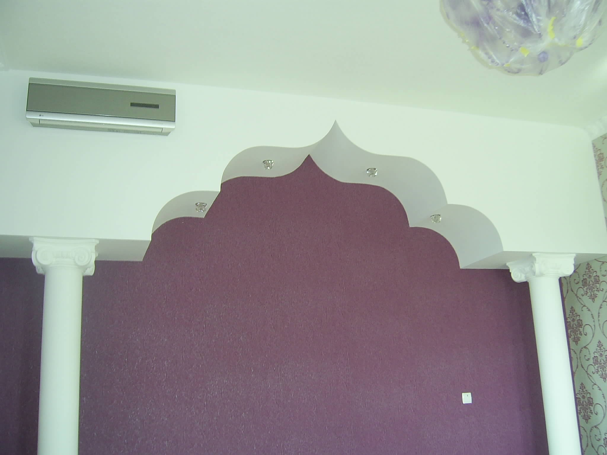 Дизайн арок из гипсокартона фото.